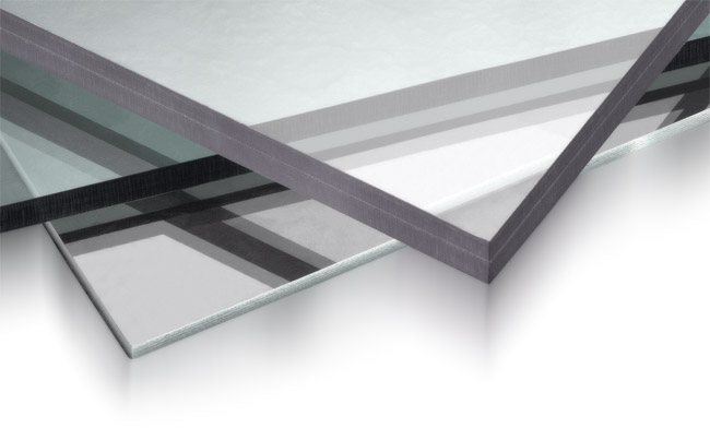 laminated polycarbonate sheets with uv protection