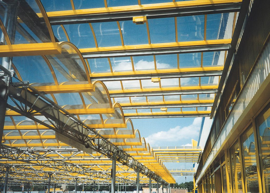 Polycarbonate with UV protection