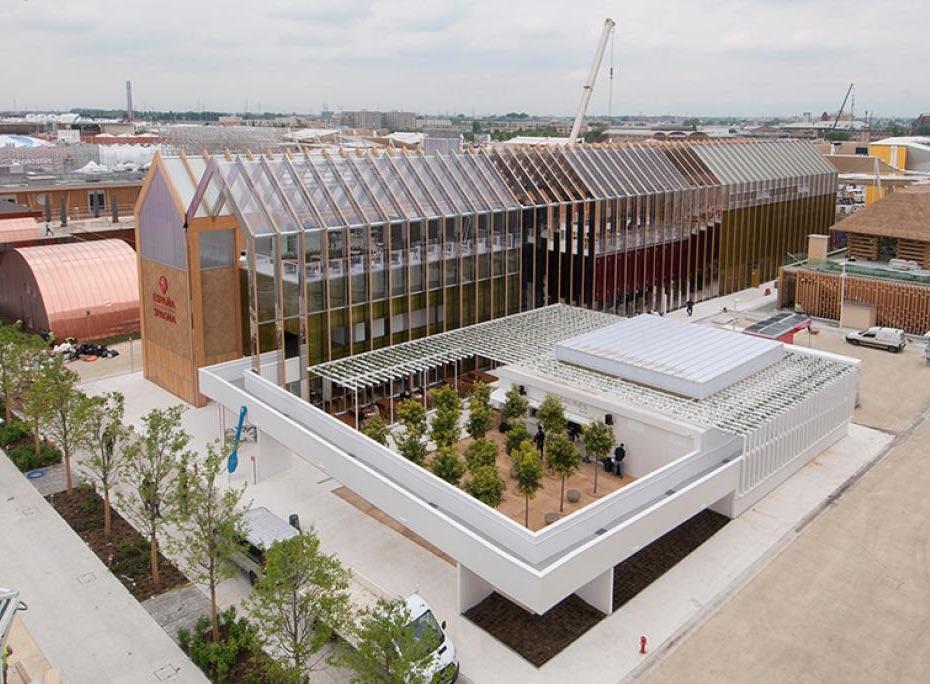 Pavillon de l'Espagne ExpoMilan 2015