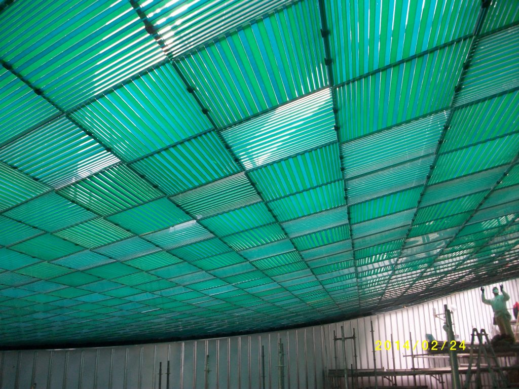 False ceilings with Acrylic and Polycarbonate 2