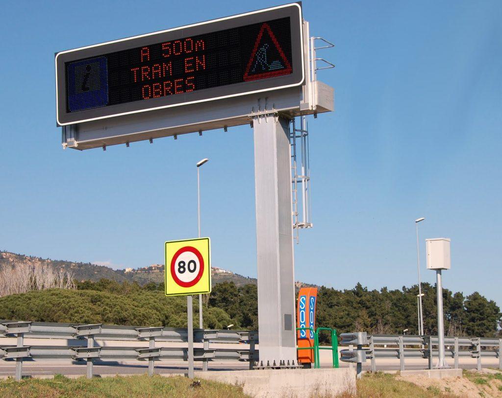 carteleria promociaonal - autopista