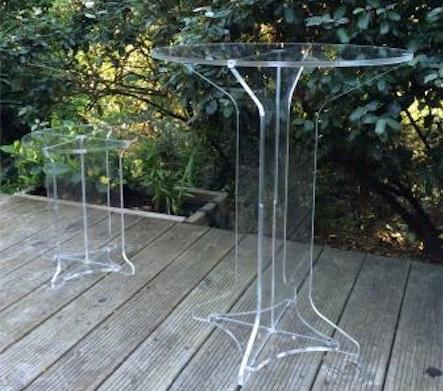 custom methacrylate tables