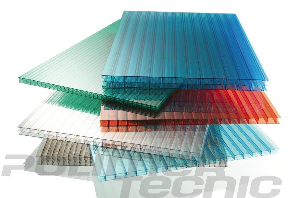 placas de policarbonato celular