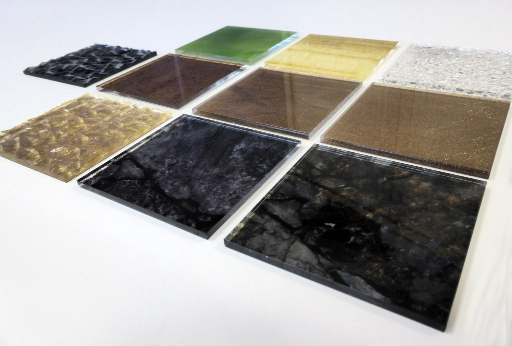Decorative resin panels 3