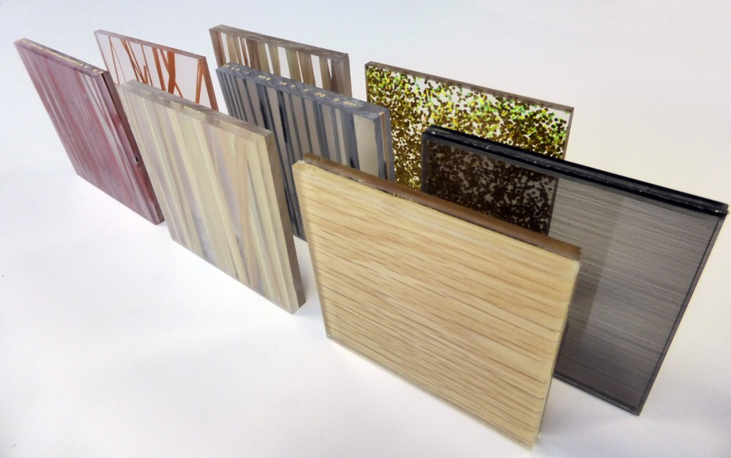 Decorative resin panels 5