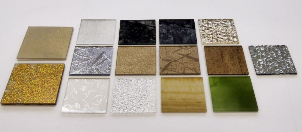 Decorative resin panels 6