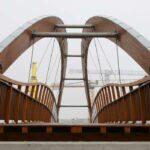 Polimer colabora con Media Madera en la construcción de un puente en Francia