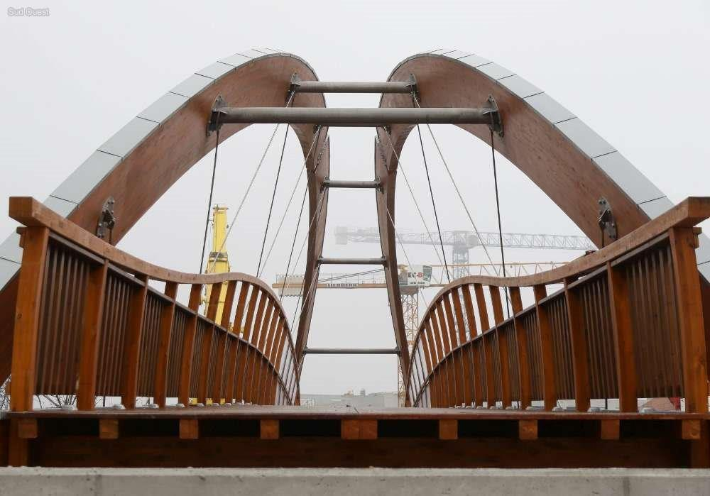 Polimer collaborates with Media Madera in the construction of a bridge in France